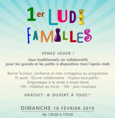 Premier Ludi Familles (10/02/2019)
