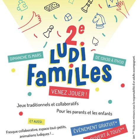 2e Ludi familles, venez jouer à l'école en famille !