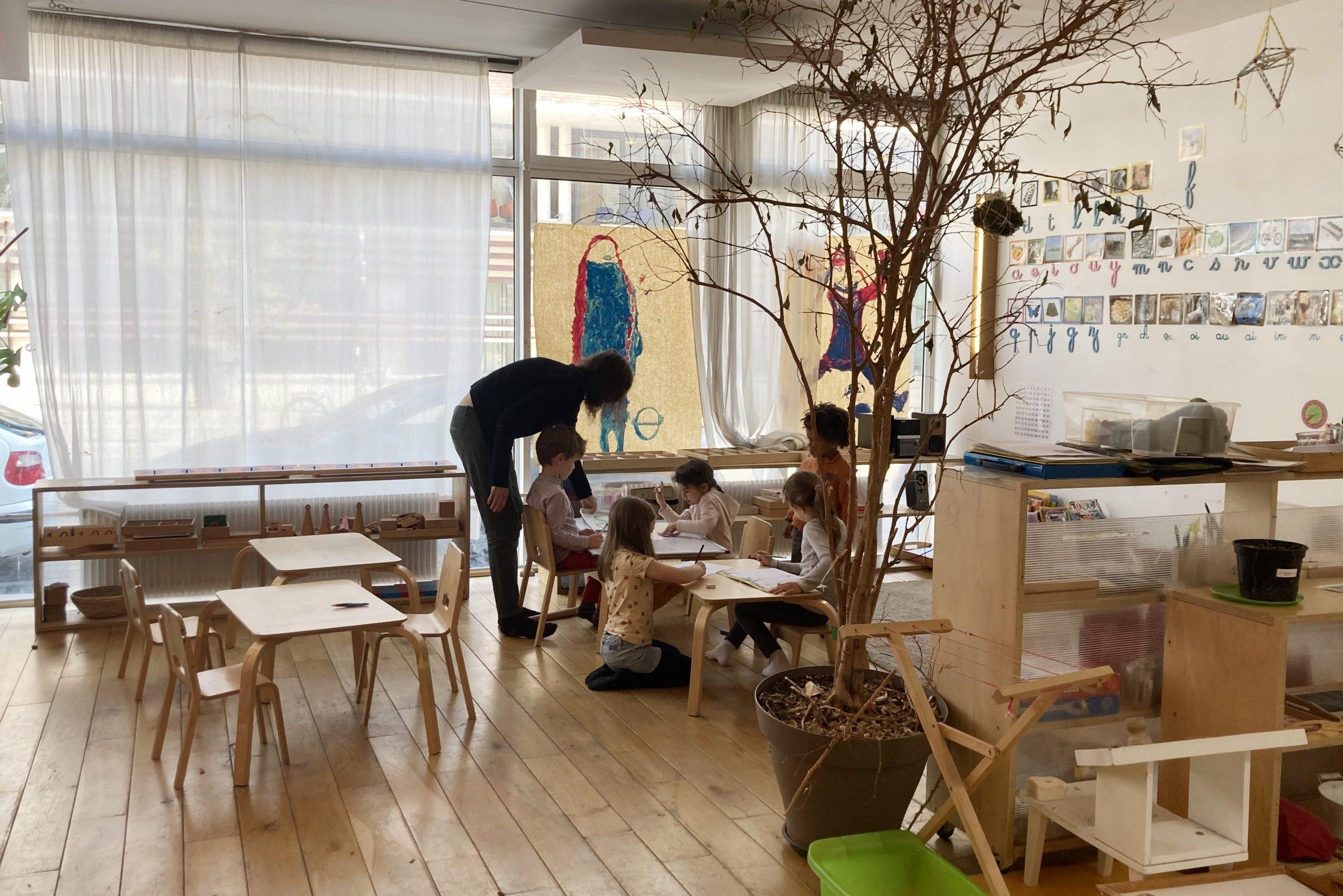Ambiance de travail et de découverte en multi-âge